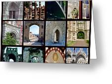 Arches Collage Greeting Card