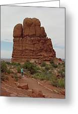 Arches Formation 23 Greeting Card