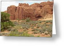 Arches Formation 31 Greeting Card