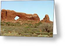 Arches Formation 34 Greeting Card