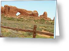 Arches Formation 35 Greeting Card
