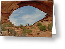 Arches Formation 38 Greeting Card