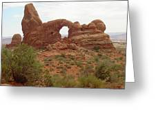 Arches Formation 39 Greeting Card