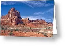 Arches Nat Park Utah  Greeting Card