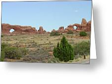 Arches National Park 21 Greeting Card