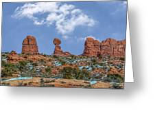 Arches National Park 3 Greeting Card