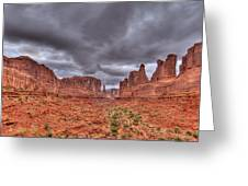 Arches National Park One Greeting Card