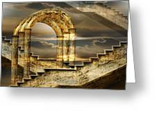Arches Of Possibility Greeting Card