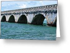 Arches Of The Bridge Greeting Card