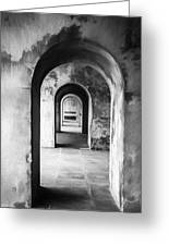 Arches Greeting Card by Trevor Wintle
