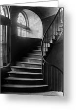 Arching Stairwell Greeting Card