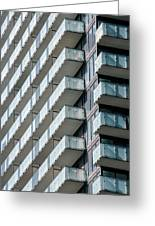 Architectural Abstract - 231 Greeting Card