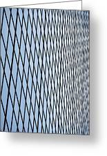Architectural Abstract - 4 Greeting Card