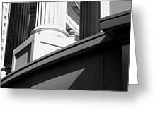 Architectural Columns Greeting Card