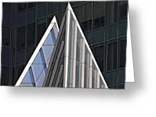 Architectural Detail Midtown Manhattan Greeting Card