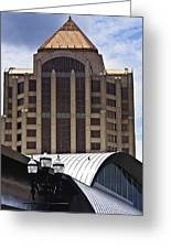Architectural Differences Roanoke Virginia Greeting Card