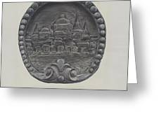 Architectural Ornament (city Of Boston) Greeting Card