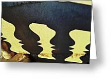 Architectural Shadows Greeting Card