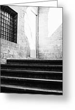 Architectural Stone Stairs Greeting Card