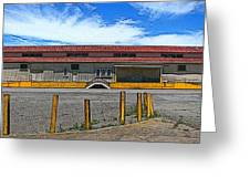 Architectural Study Mare Island Vallejo Ca Greeting Card