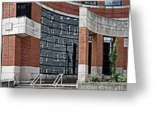 Architecture And Reflections Greeting Card