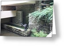 Architecture Frank Lloyd Wright Greeting Card