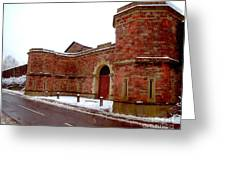 Architecture In England  Greeting Card
