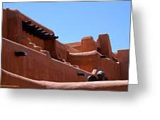 Architecture In Santa Fe Greeting Card