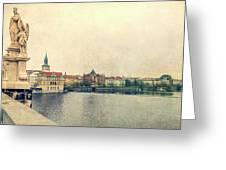 Architecture Of Charles Bridge Greeting Card