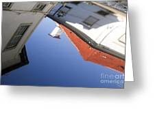 Architecture Reflection Greeting Card