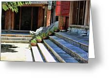 Architecture Tam Coc Vietnam Greeting Card