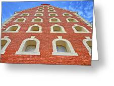Architecture, Windows. Greeting Card