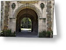 Archway To Education Greeting Card
