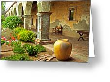 Archways At The Mission, Mission San Juan Capistrano, California Greeting Card
