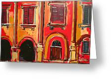 Arco Di Firenze Greeting Card