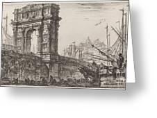 Arco Di Trajoano In Ancona Greeting Card