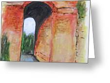 Arco Felice, Revisited Greeting Card by Clyde J Kell