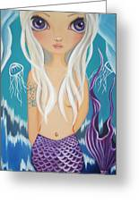 Arctic Mermaid Greeting Card