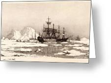 Arctic Ocean Greeting Card