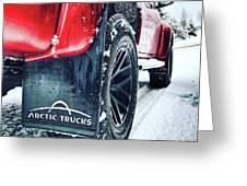 Arctic Trucks Greeting Card