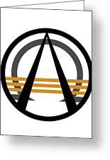Arcturian Emblem Greeting Card