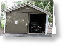 Ardenwood Historic Farm Garage Greeting Card