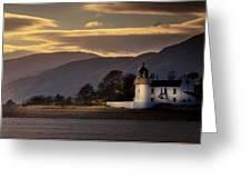 Ardgour Light House Greeting Card