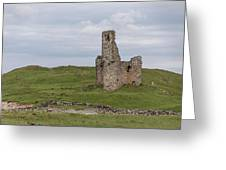 Ardvrek Castle 0947 Greeting Card
