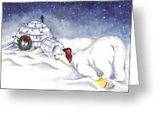 Are You In There Santa Greeting Card
