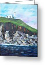Arecibo Lighthouse Greeting Card