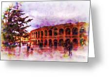 Arena Di Verona Greeting Card