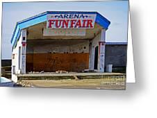 Arena Funfair. Greeting Card