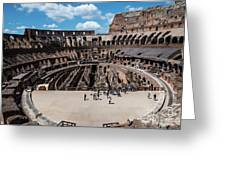 Arena Of Death And Glory Greeting Card