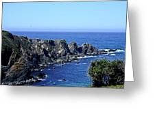 Arena Point California Greeting Card